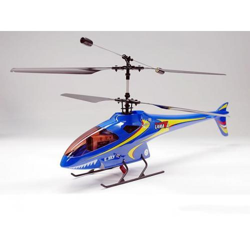 Радиоуправляемый вертолет E-Sky TWF 3D Helicopter Lama v4 - 2.4G с гироскопом - 003908 (41 см)